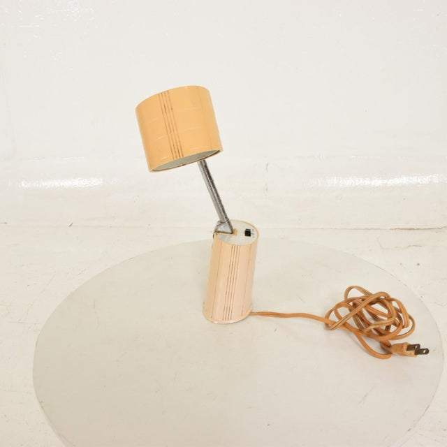 Lightolier Mid-Century Modern Task Adjustable Table Lamp by Hamilton Industries/Lightolier For Sale - Image 4 of 7
