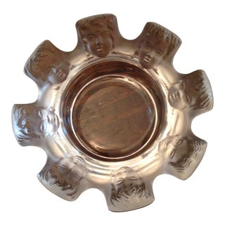 Vintage Lalique St. Nicholas Ashtray