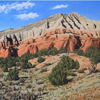 "Garrett Middaugh ""Kodachrome Basin"" Oil Painting For Sale"
