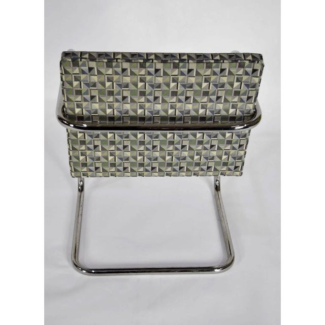 Gray Tubular Brno Chairs by Knoll - Set of 10 For Sale - Image 8 of 10