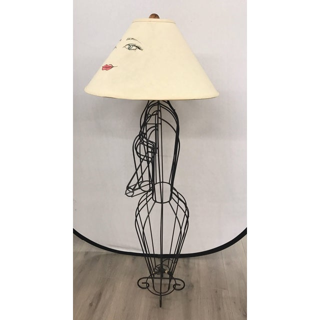 Michele Rizzi Figural Wire Sculpture Dress Form Art Made in Italy For Sale In New York - Image 6 of 6