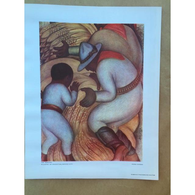 1948 Original Diego Rivera Prints - A Pair - Image 6 of 11