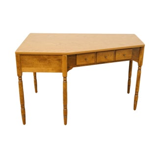 Ethan Allen Heirloom Nutmeg Maple CRP Corner Desk For Sale