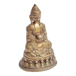 Vintage Brass Buddha For Sale