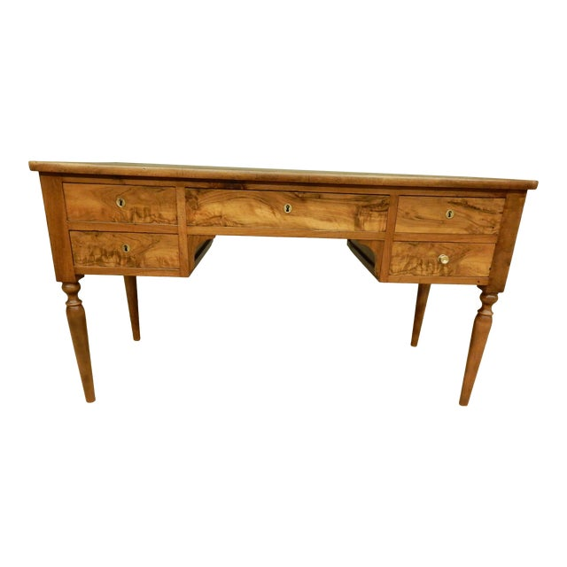 19th C. French Leather Top Desk For Sale