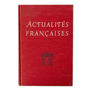 """Actualites Francaises"" French School Book For Sale"