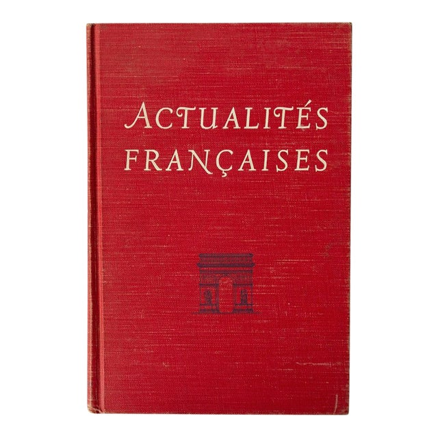 """""""Actualites Francaises"""" French School Book For Sale"""