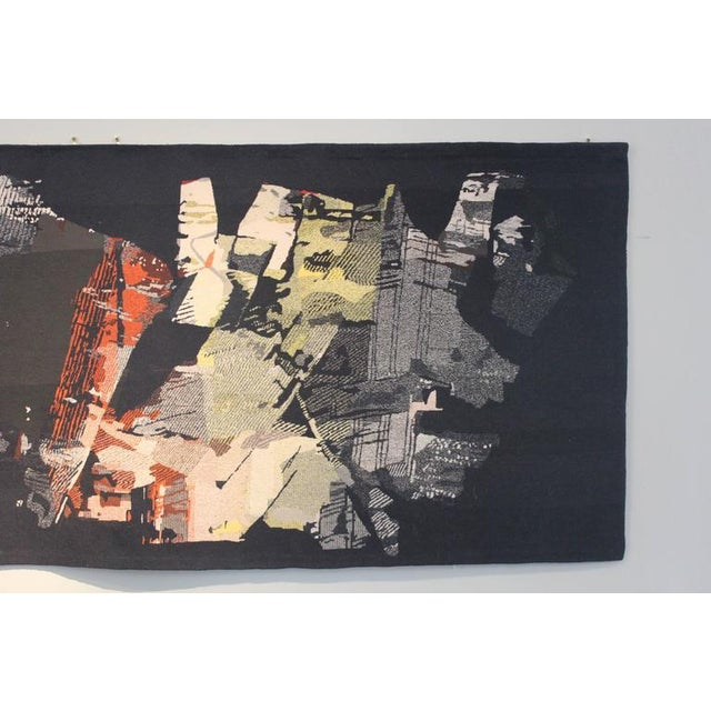 "A large tapestry titled ""Fiction"" from an addition of six designed by Mathieu Matégot."