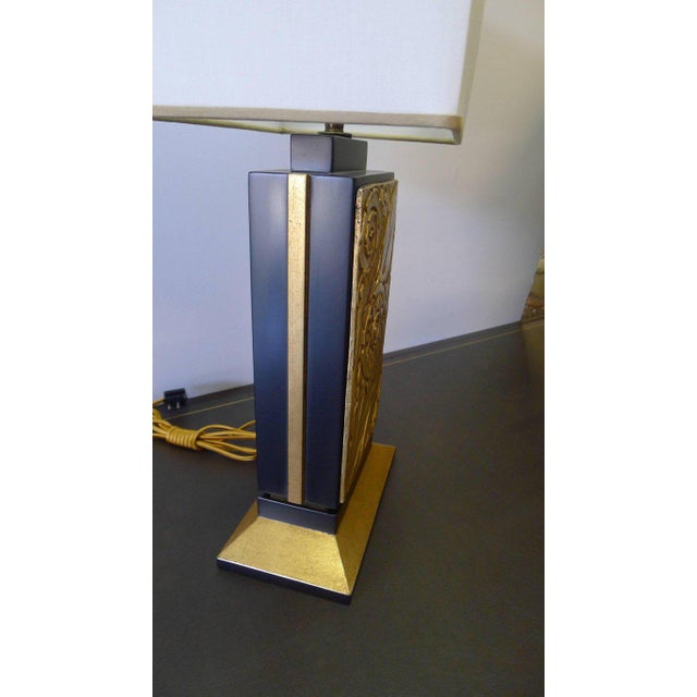 Art Deco Style Modern Table Lamp by Paul Marra For Sale In Los Angeles - Image 6 of 11