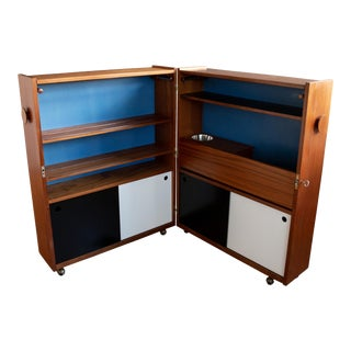 Teak Dry Bar by Erik Buch for Dyrlund For Sale