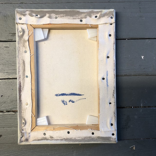 Contemporary Trompe-L'oeil Painting Frame With Fly & Tag For Sale - Image 4 of 5