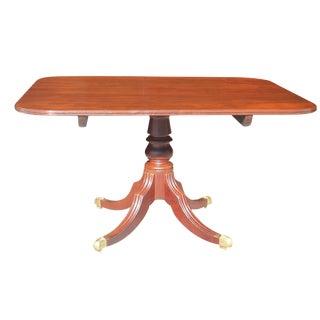 English Regency Mahogany Tilt-Top Dining Breakfast Table For Sale