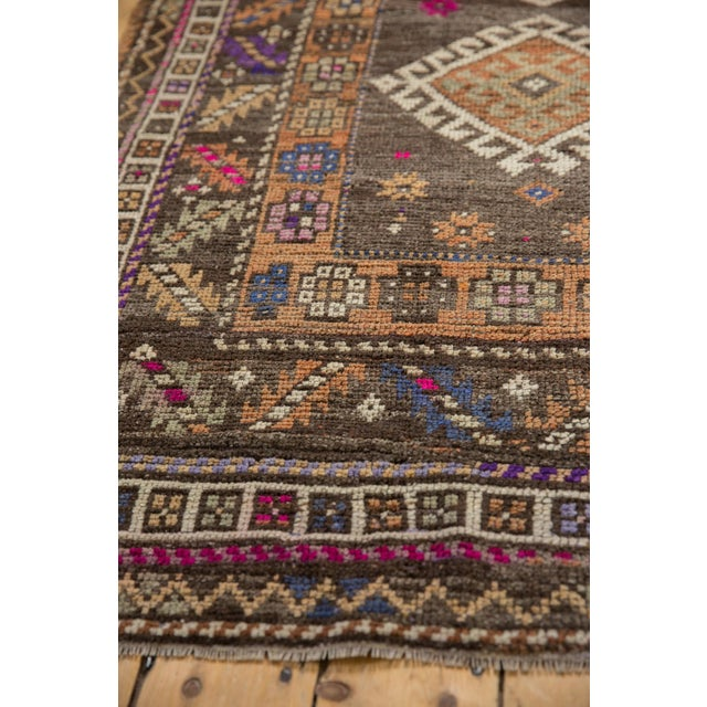 """Taupe Vintage Distressed Oushak Rug - 4'1"""" X 6'2"""" For Sale - Image 8 of 10"""