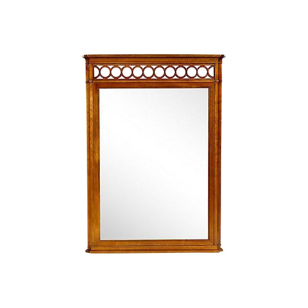 1960s Kindel Furniture Wall Mirror For Sale
