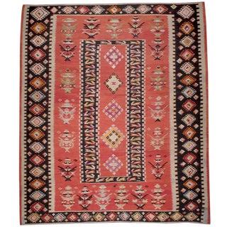 Large Balkan Kilim For Sale