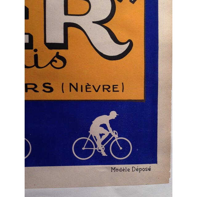 Vintage French L'Inder Bike Poster - Image 6 of 8
