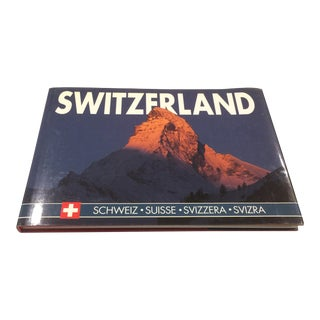Switzerland: Schweiz - Suisse - Svizzera - Svizra Hardcover Book by Zurichberg Verlag, Text by Martin Sigrist For Sale