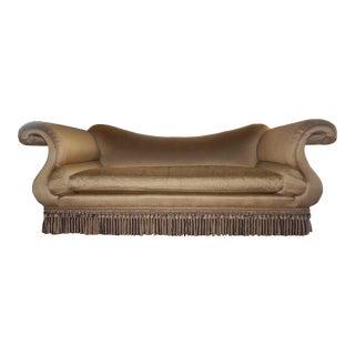Baker Scroll Arm Sofa For Sale