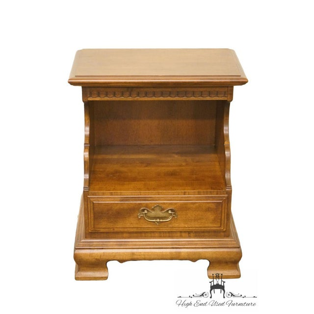 Ethan Allen Classic Manor nightstand featuring a single drawer.