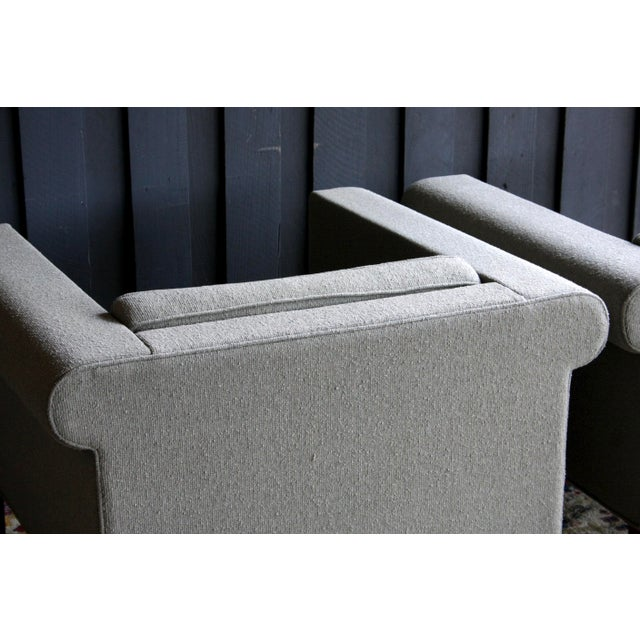 Charles McMurray Postmodern Lounge Chairs, a Pair For Sale - Image 9 of 11