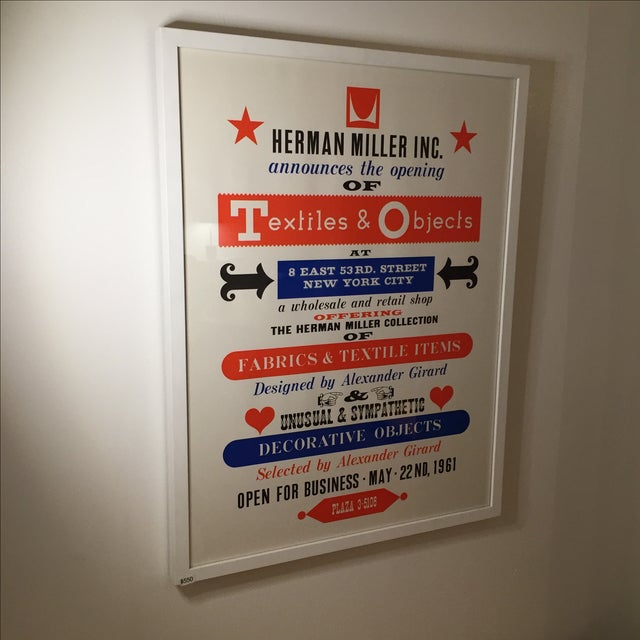 Herman Miller Textiles & Objects Print Only - Image 2 of 2