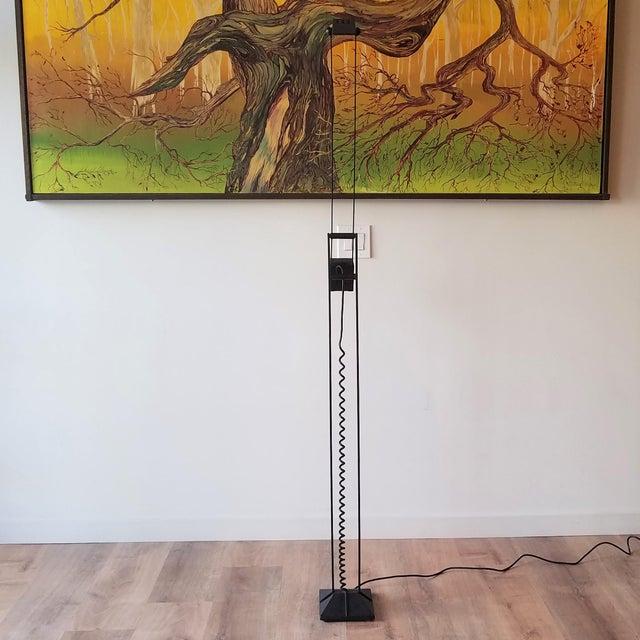 Postmodern 1980s Artup Crane Floor Lamp For Sale - Image 3 of 13