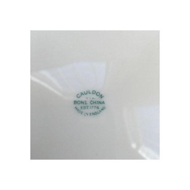 English Porcelain Cauldon Soup Bowl Set - Set of 10 For Sale In Boston - Image 6 of 7