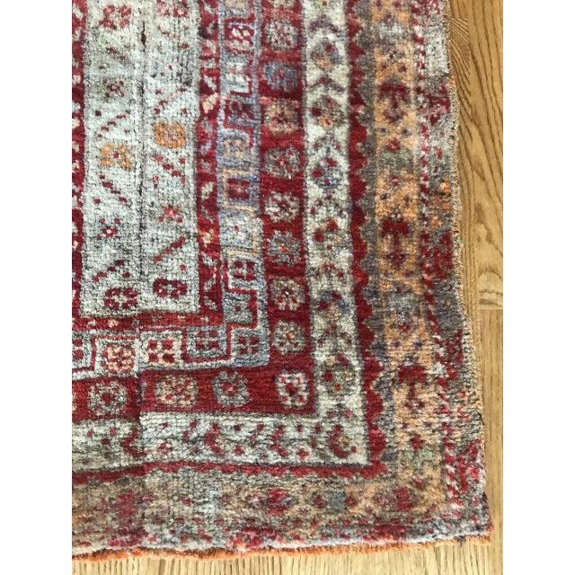 """Bellwether Rugs Vintage Oushak """"Vega"""" Rug - 1'11"""" X 4'9"""" For Sale - Image 4 of 6"""