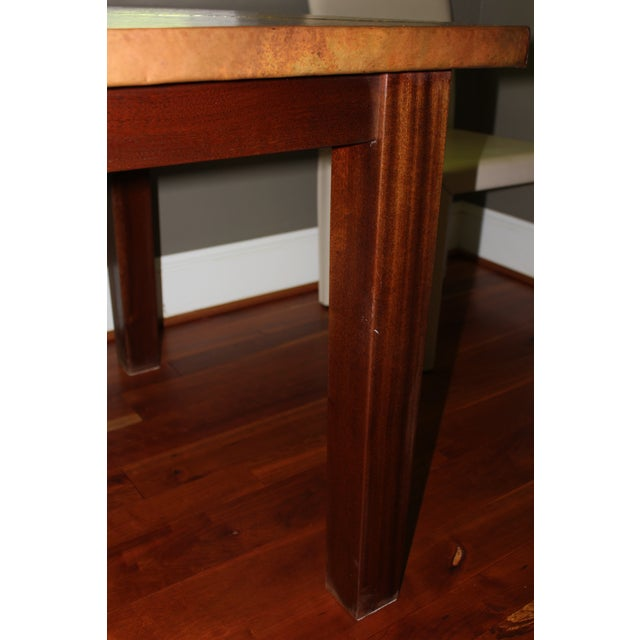 Copper Dining Table From Mohr McPherson - Image 4 of 4