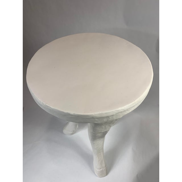 This is one awesome statement piece! A 3 legged table that will certainly be a conversation piece.