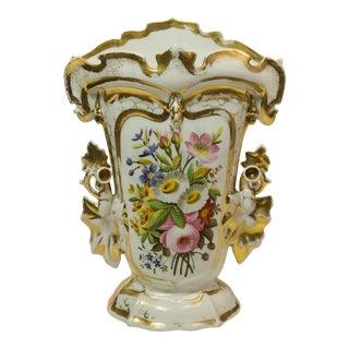 Fine Old Paris Style Mantle Vase Circa 1900