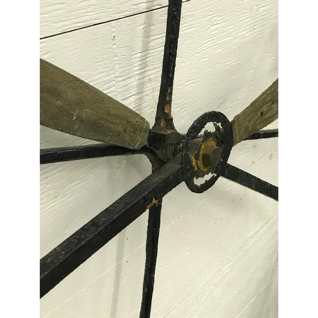 19th Century Wrought Iron Clock Face - Image 3 of 4