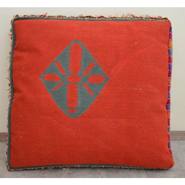 Floor Pillow Insert 30 X 30 : Turkish Hand Woven Floor Cushion Cover - 30? X 30? X 6? Chairish