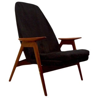 Lounge Chair by Langlos Fabrikker as Stranda Norway for Westnofa For Sale