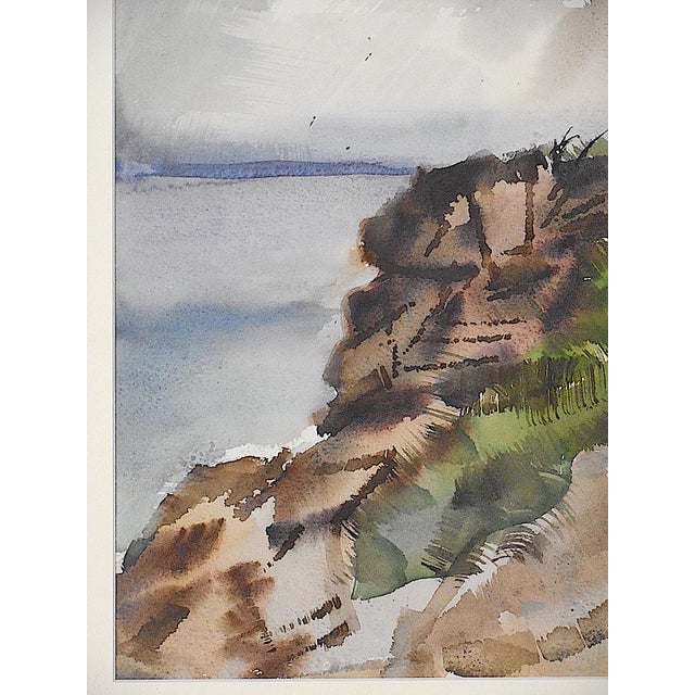 Carl Zimmerman (Cincinnati, Ohio; 1900-1985) Untitled Watercolor painting on paper Unsigned; Estate Stamp lower right...