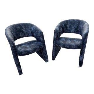 Milo Baughman Thayer Coggin Side Chairs For Sale