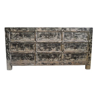 Antiqued Jinwa Farm Dresser For Sale