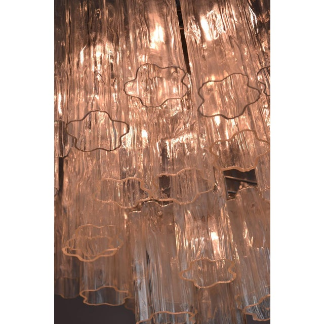 Murano Glass Tronchi Chandelier For Sale In New York - Image 6 of 9