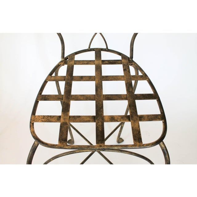 Figural Iron Chairs in the Style of John Risley For Sale - Image 10 of 13