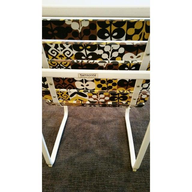 Samsonite Tubular Steel Patio Chairs - a Pair - Image 5 of 9