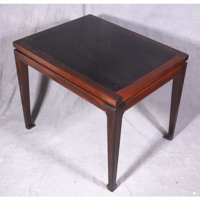 Mid-Century Modern Mahogany End Tables - A Pair - Image 6 of 7