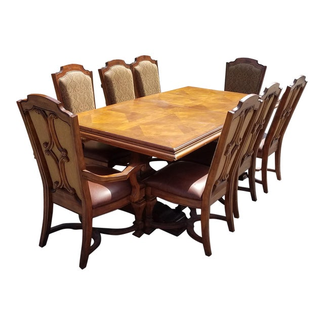 Stanley Dining Room Furniture: Stanley Grande Balustrade Pedestal Dining Room Chairs