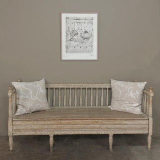 18th Century Swedish Gustavian Period Day Bed ~ Hall Bench Ca. 1790 Preview