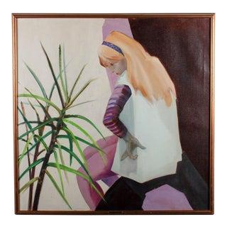 """Florence Bohn """"Cynthia"""" Painting"""