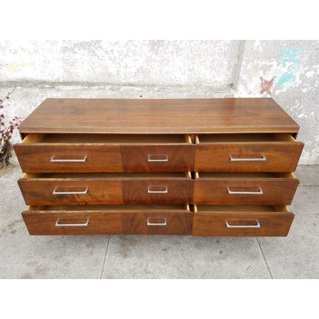 Mid-Century Modern Lane 1970's Vintage Dresser For Sale - Image 3 of 6