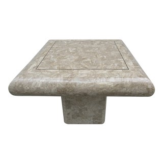 Tessellated Stone Side Table -Mission Furniture Los Angeles For Sale