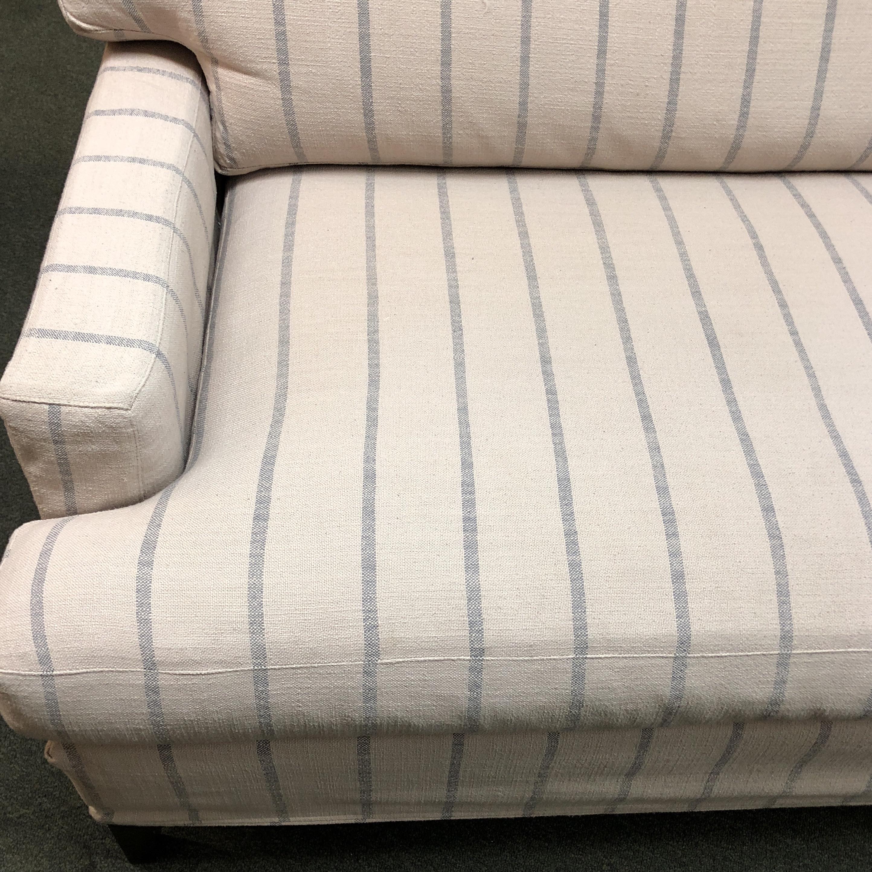 Quatrine Manhattan Striped Sofa   Image 9 Of 10
