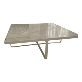Tacchini Cage Square Coffee Table For Sale