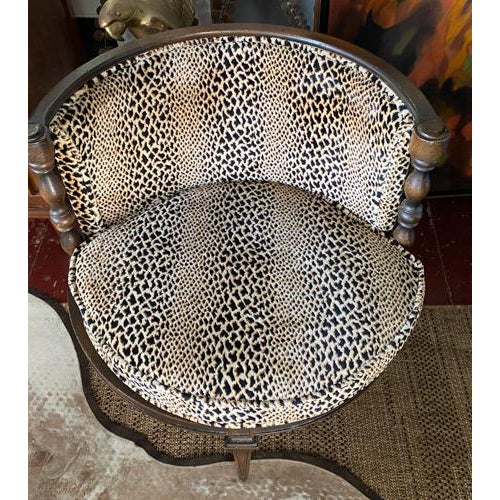Mid 20th Century Mid Century Leopard Chair For Sale - Image 5 of 7
