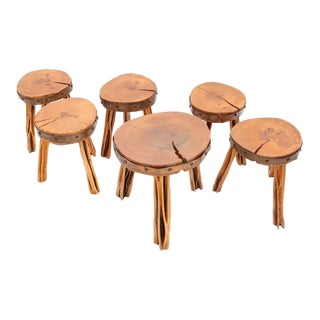Incredible Set of Stools For Sale